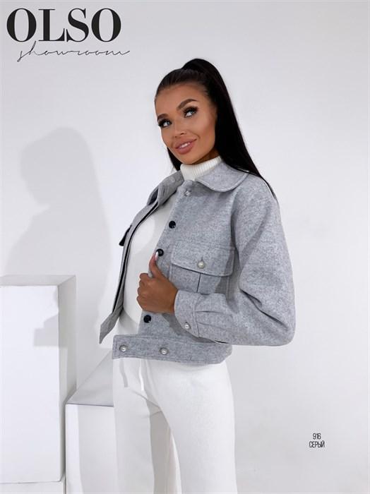 Пиджак-пальто - фото 28374