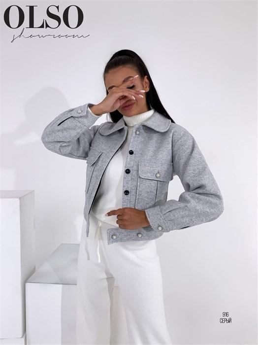 Пиджак-пальто - фото 28375