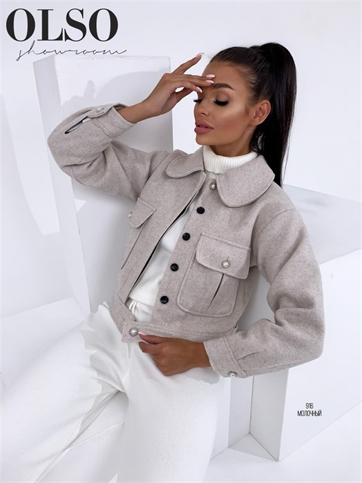 Пиджак-пальто - фото 28376