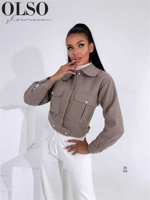 Пиджак-пальто - фото 28377