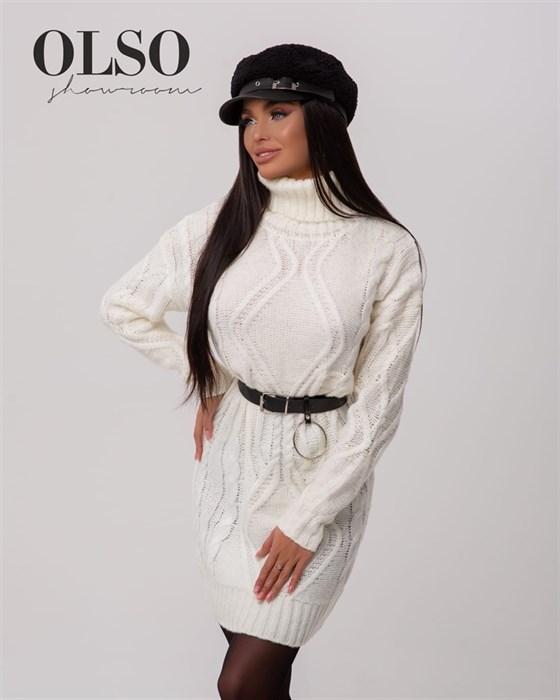 Платье вязаное - фото 35264