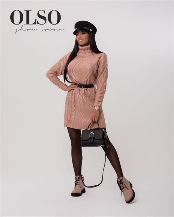 Платье вязаное - фото 35268