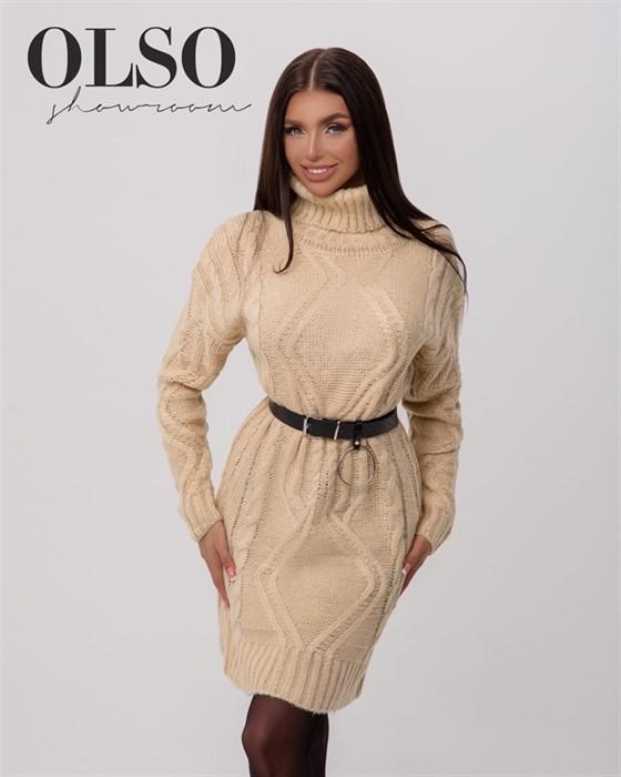 Платье вязаное - фото 35269