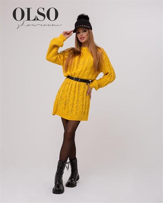 Платье вязаное - фото 35313