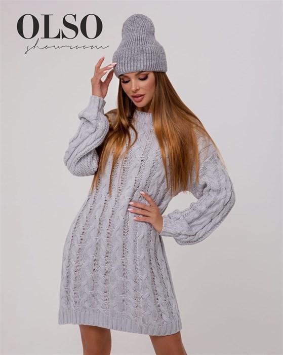 Платье вязаное - фото 35314