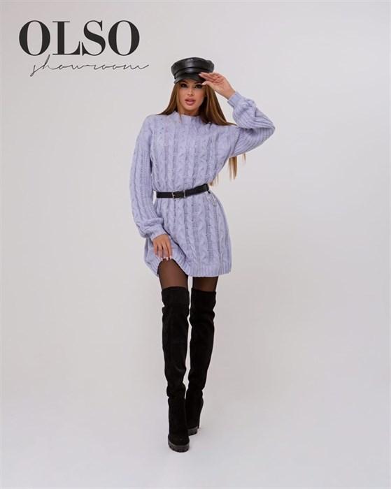 Платье вязаное - фото 35315