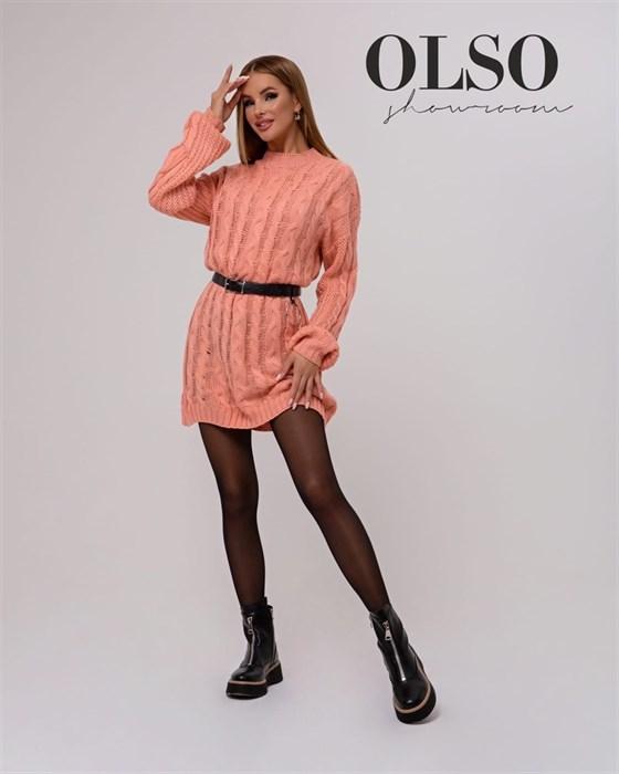Платье вязаное - фото 35316