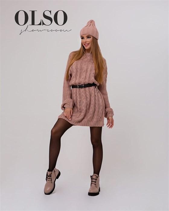 Платье вязаное - фото 35318