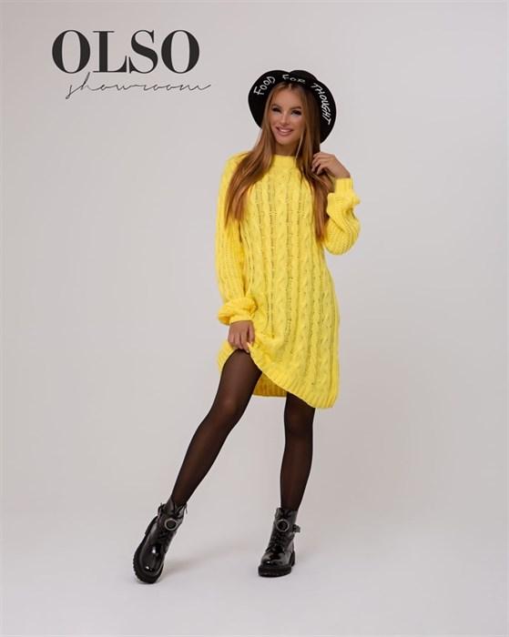 Платье вязаное - фото 35320