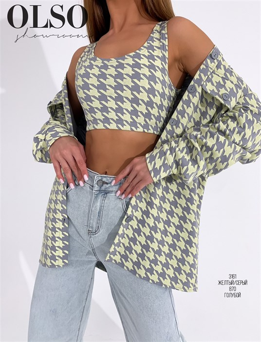 Рубашка-двойка - фото 37617