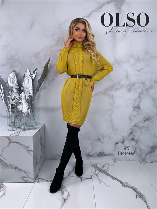 Платье вязаное 427 - фото 41803